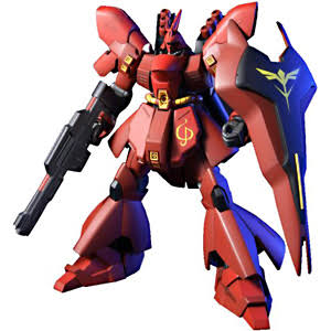 Bandai Scale Mobile Suit Gundam Model Toy Kit - MSN04 Sazabi