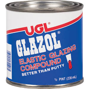 UGL 31506 Elastic Glazing Compound - 1/2 Pint