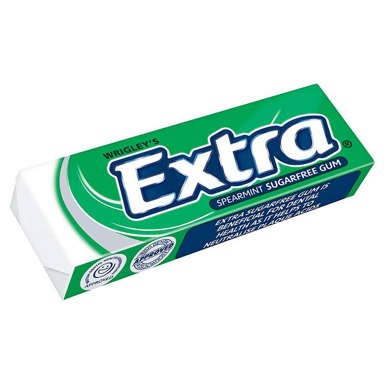 Wrigleys Extra Sugarfree Chewing Gum - Spearmint