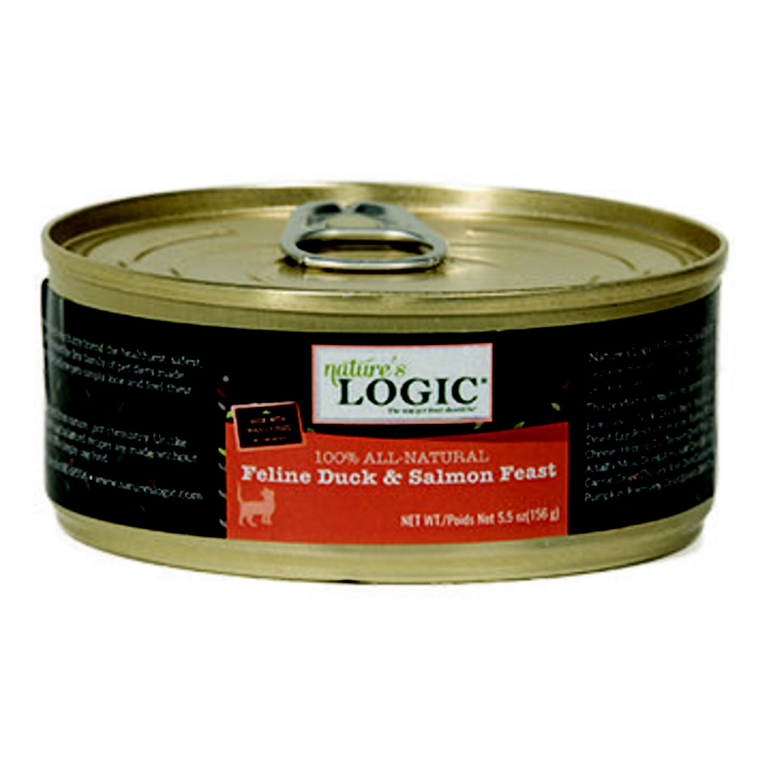Nature's Logic Cat Food - Feline Duck and Salmon Dinner Fare, 5.5oz