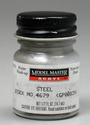 Model Master Acrylic Paint - 4679 Steel