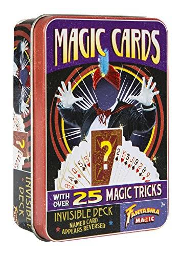 Fantasma Retro Magic Cards - Invisible Deck with Over 25 Magic Tricks - Named Card Appears Revered
