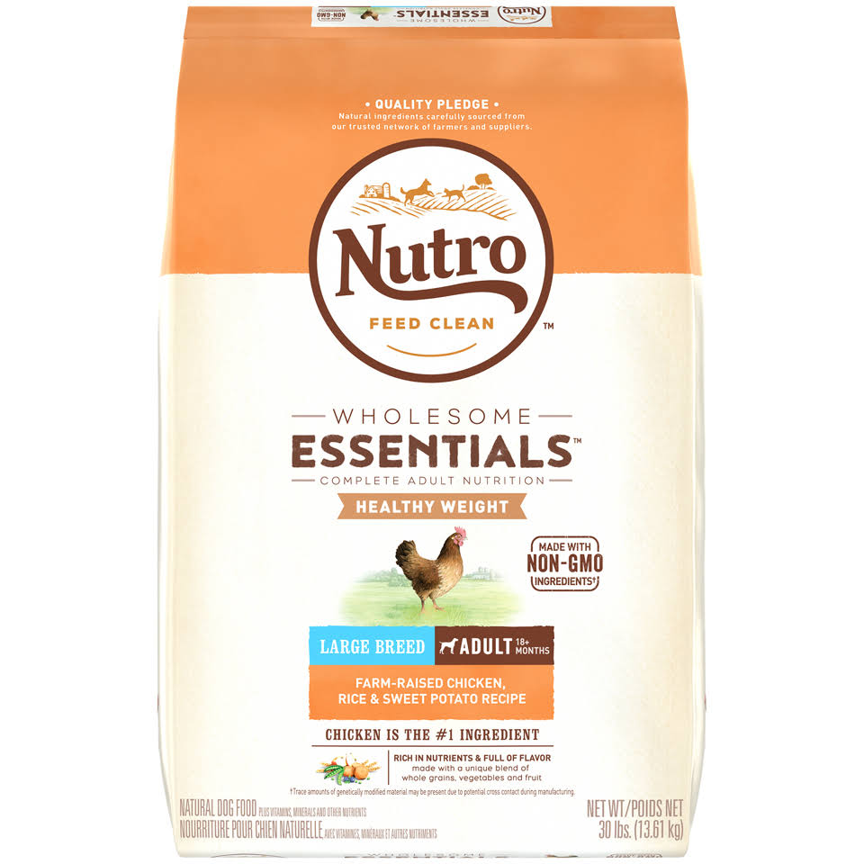Nutro Lite and Weight Management Adult Dry Dog Food - Chicken