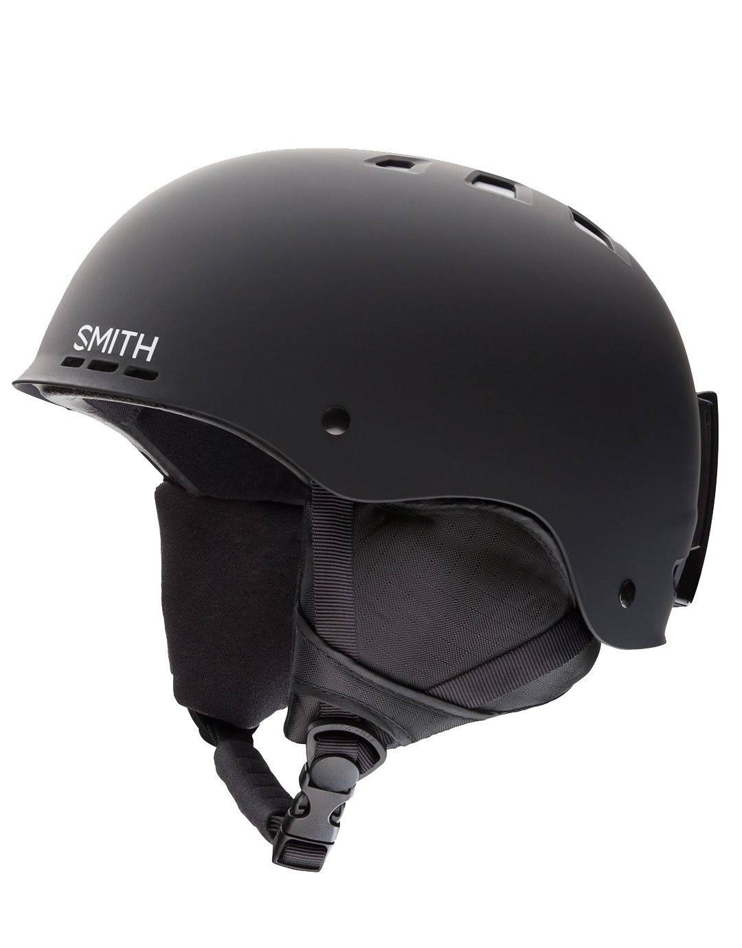 Smith Unisex Holt 2 Ski Snow Helmet - Matte Black, Medium