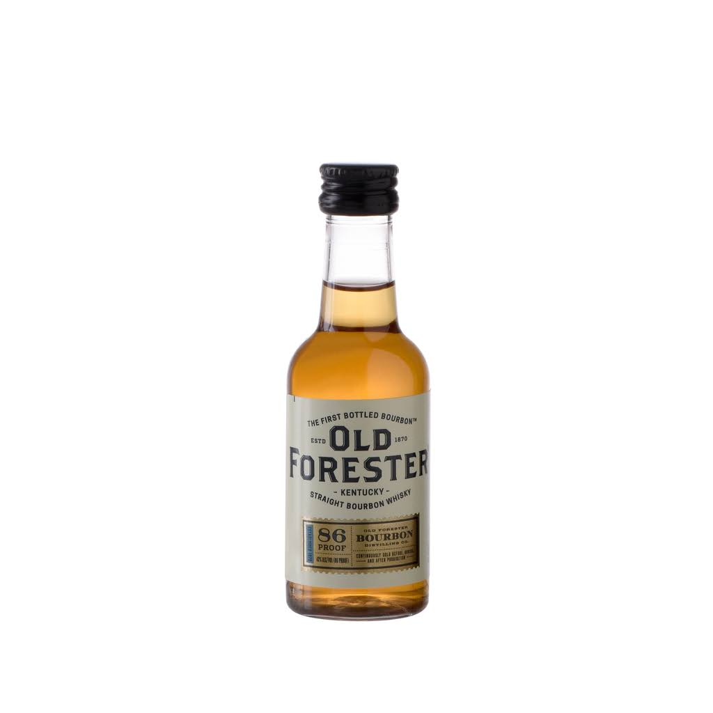 Old Forester Straight Bourbon 86 Proof 50ml