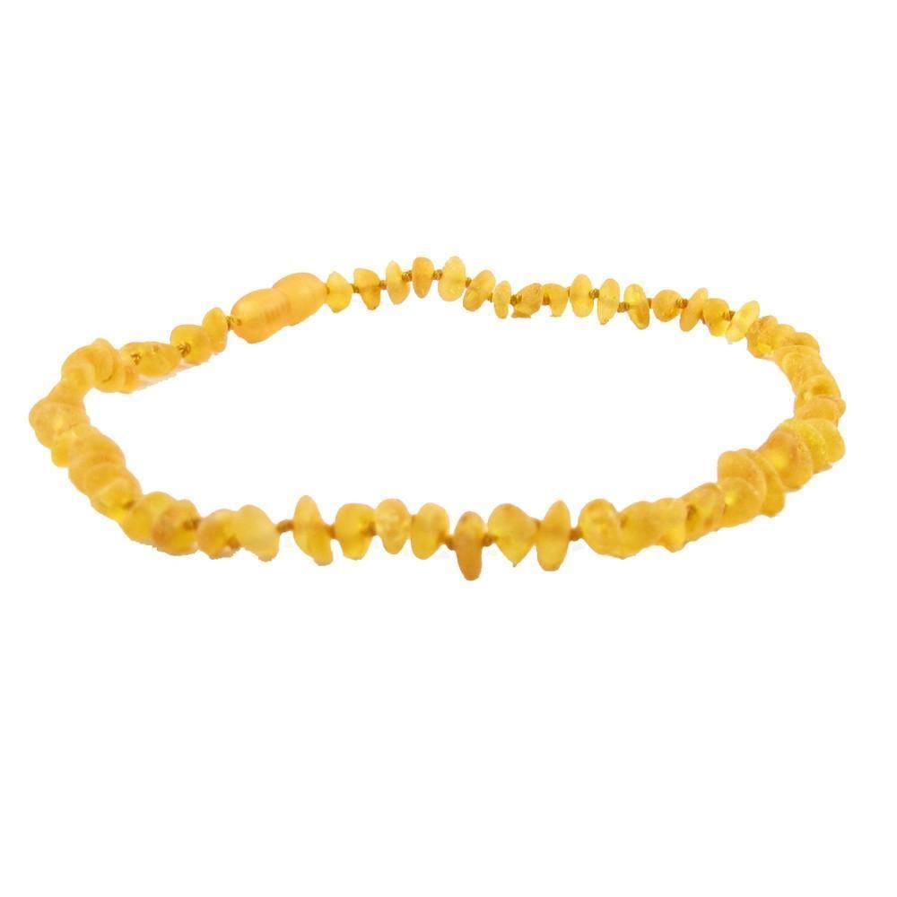 The Amber Monkey Baroque 10-11 inch Necklace, Raw Honey Pop