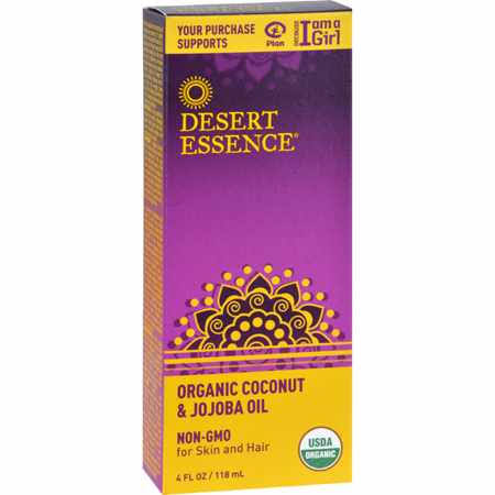 Desert Essence Organic Coconut & Jojoba Oil - 120ml
