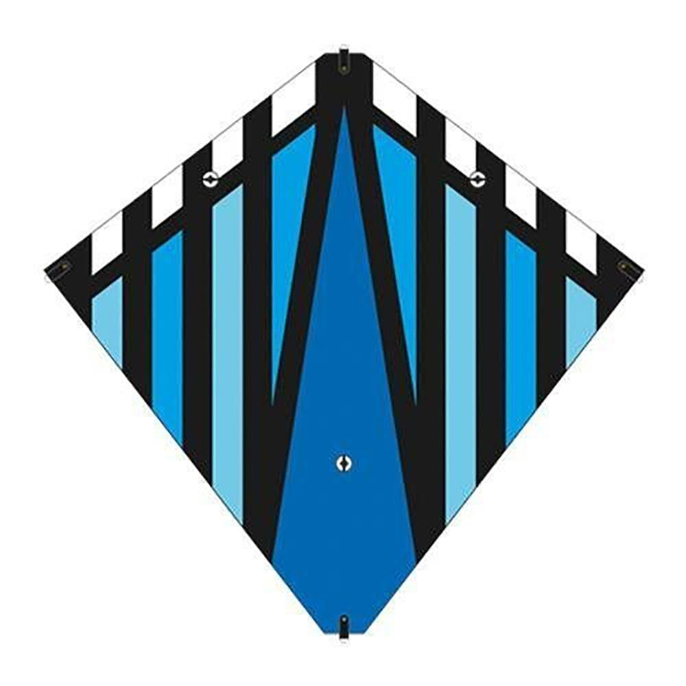 "Brainstorm 30"" Blue Stunt Diamond Kite"