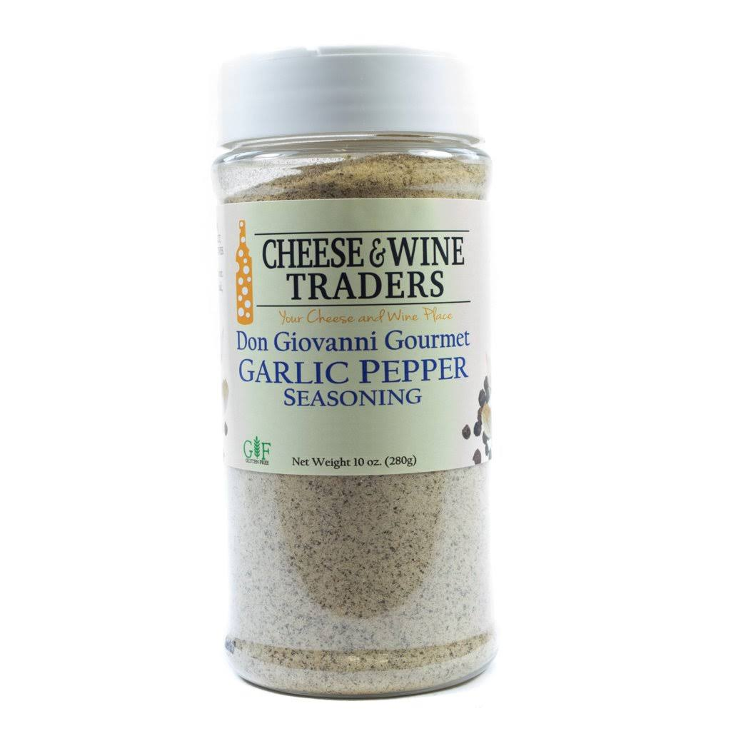 Cheese and Wine Traders Reams Garlic Pepper Seasoning, 10 oz