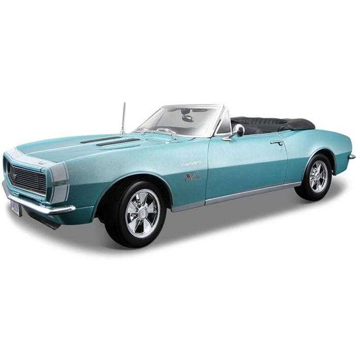 Chevrolet Camaro SS 396 Convertible 1967 ~ Red | 1:18 Diecast Model Car