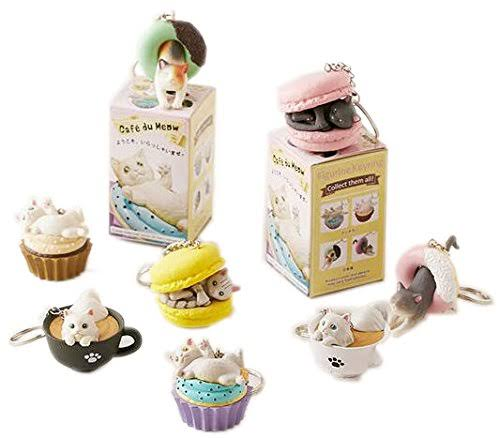 Clever Idiots Inc Cafe Du Meow Collectible Figure Mystery Blind Box