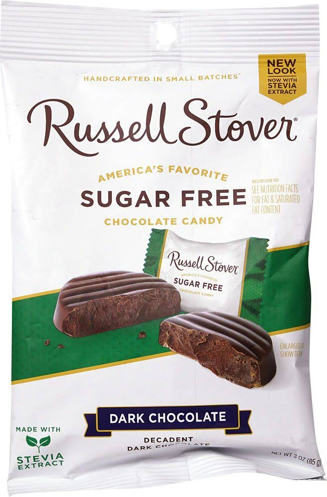 Russell Stover Premium Dark Solid Chocolate