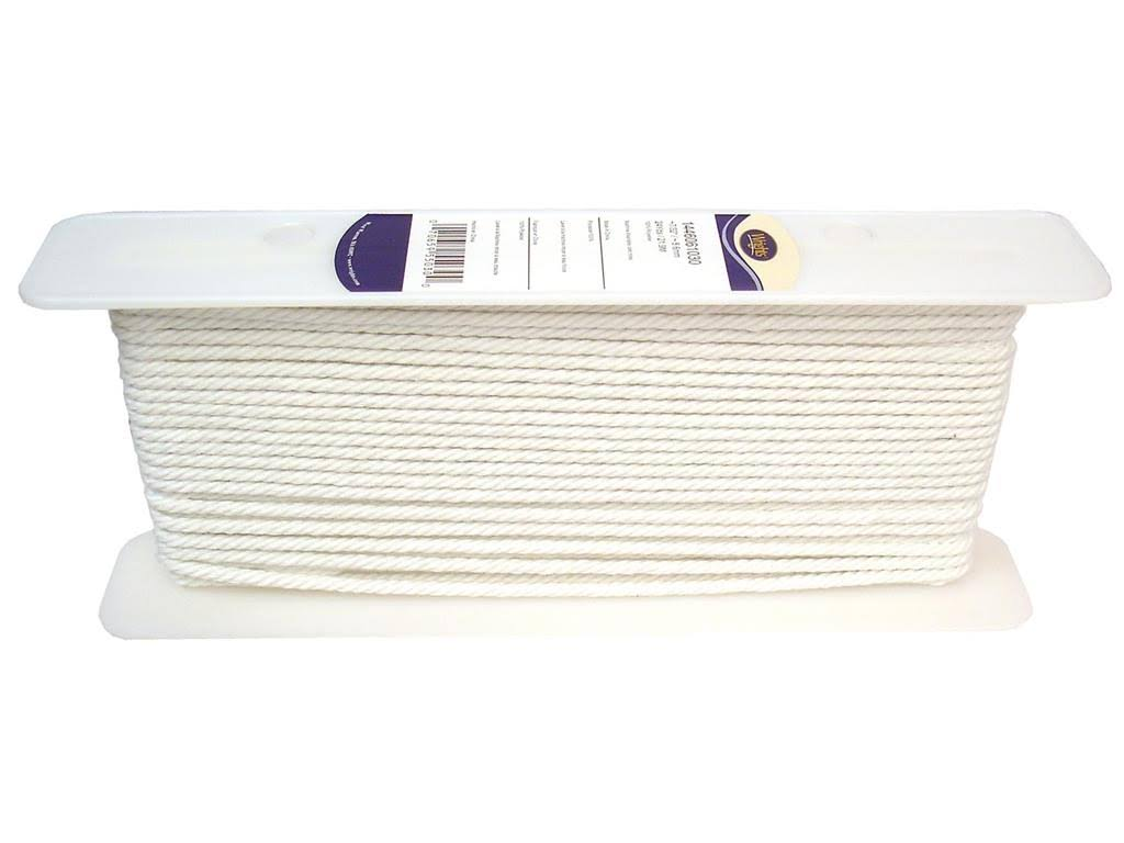 Wrights Cable Cord 7/32 in. White