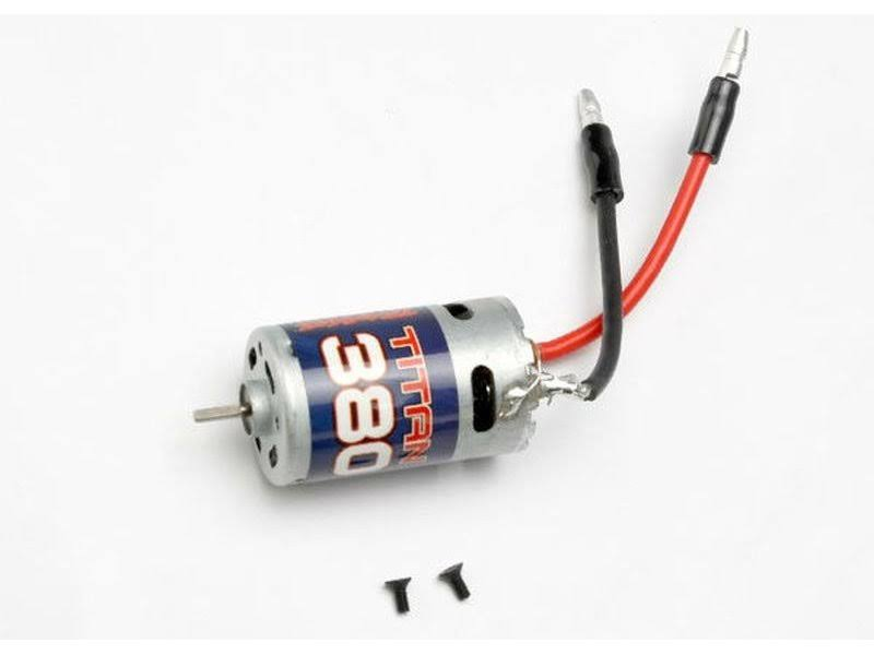 Traxxas 7075 Titan 380 18 Turn Brushed Motor