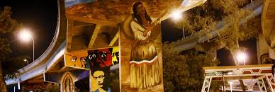 David Alfaro Siqueiros Famous Murals by Go Ahead Build That Wall Artists Are Waiting To Paint On It Kcet
