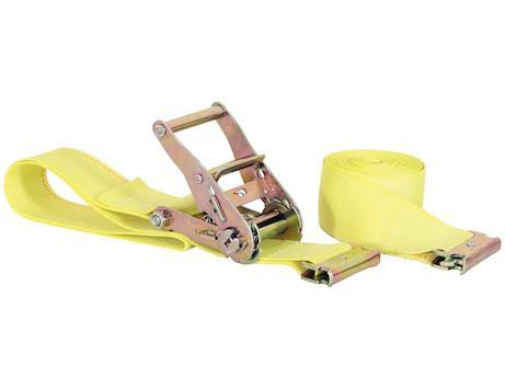 "Buyers 01077 2"" x 20' Ratchet Strap with E-Track Fitting"