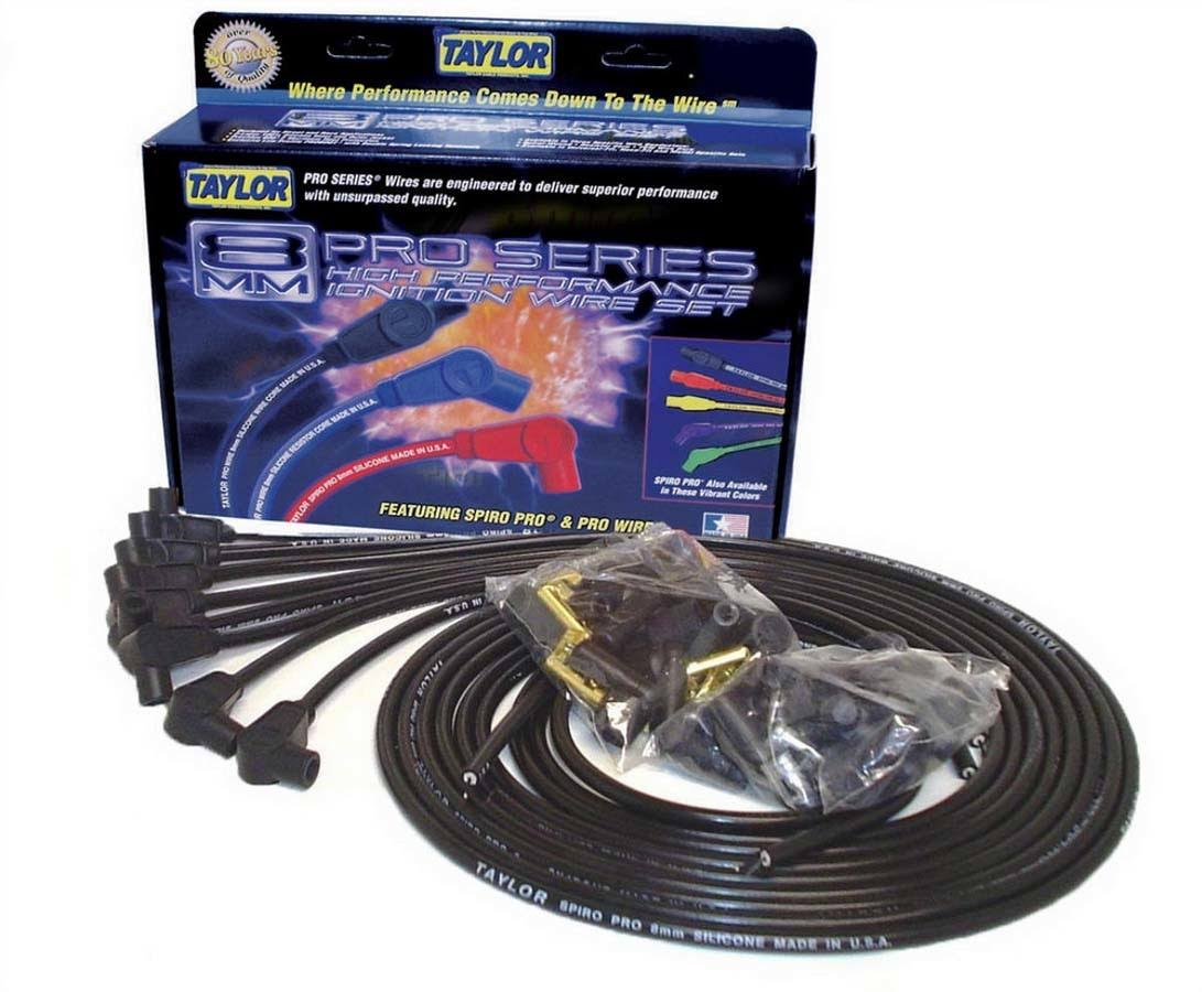 Taylor Cable 73051 Spiro Pro Black Spark Plug Wire Set