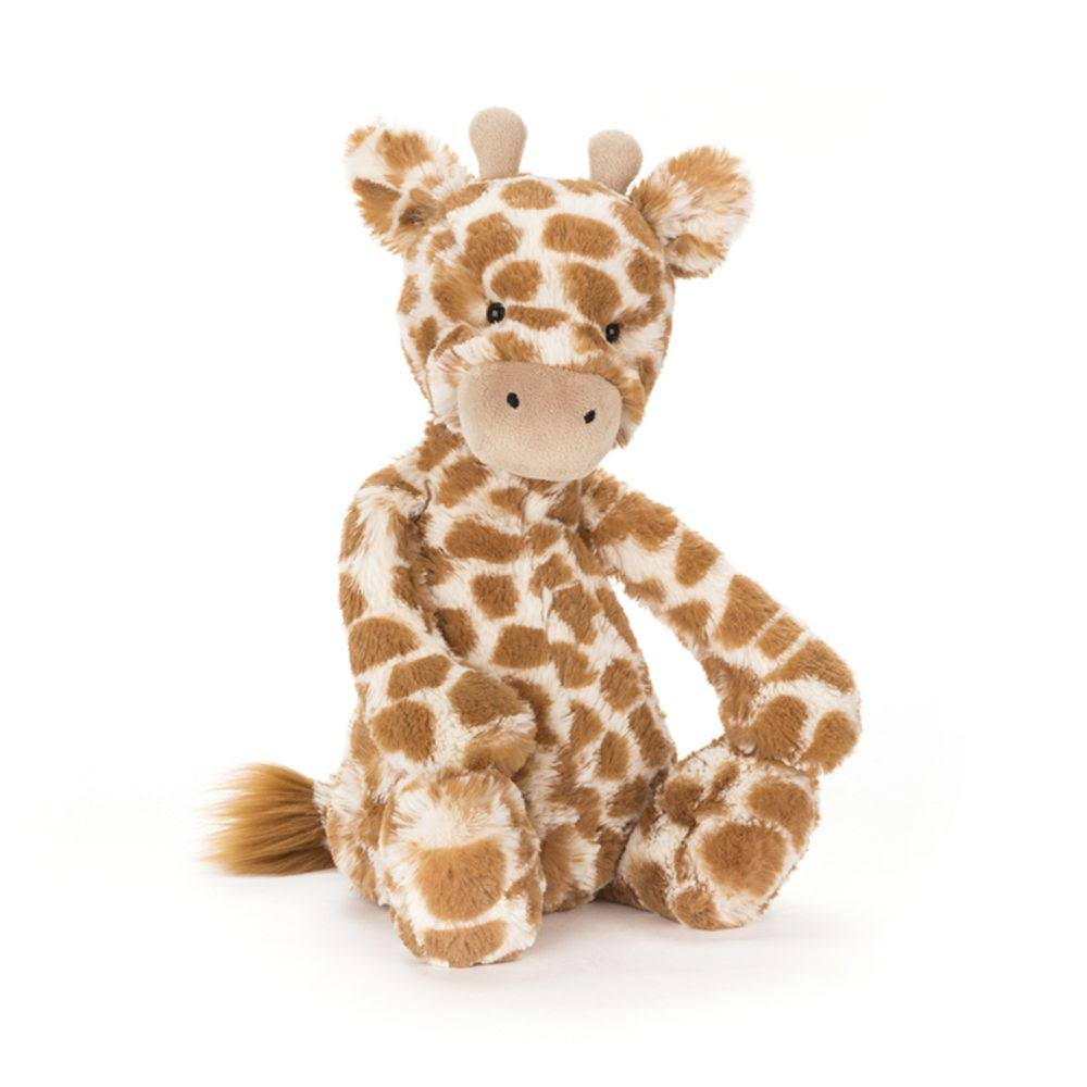 Jellycat Bashful Giraffe Plush Toy - Medium, 31cm