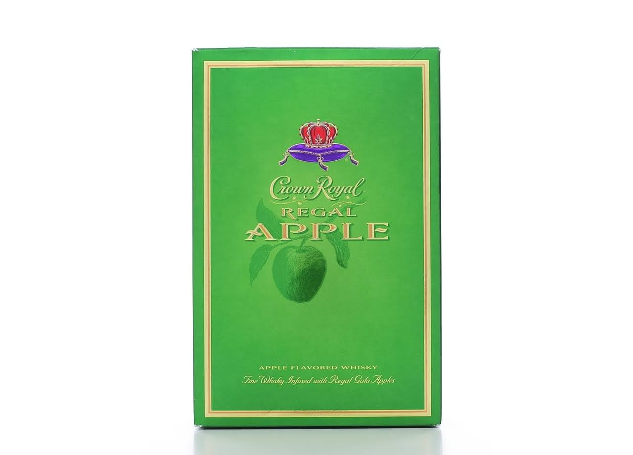Crown Royal Whisky, Apple Flavored, Regal Apple - 750 ml