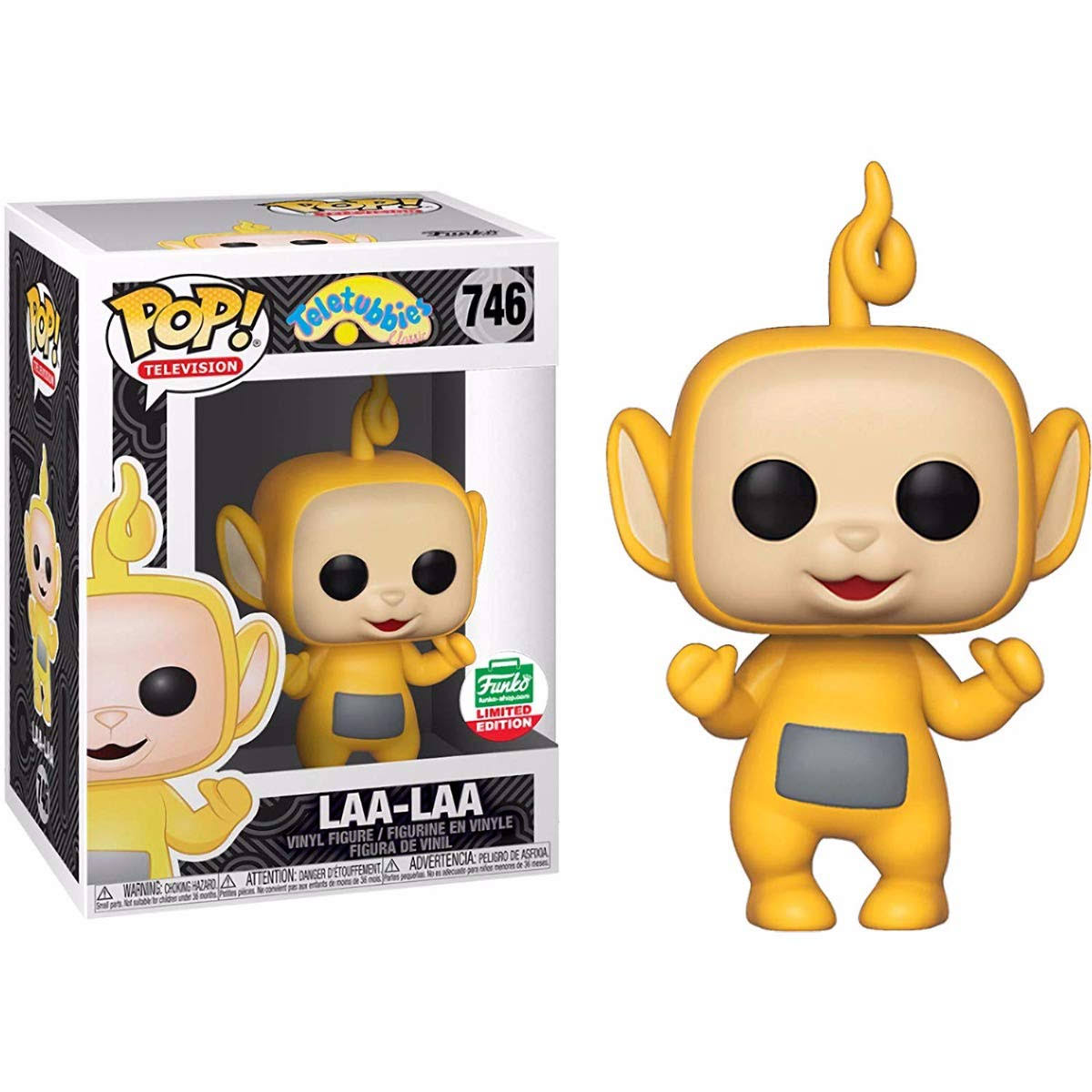 Teletubbies Funko Pop! TV Laa-Laa Vinyl Figure #746