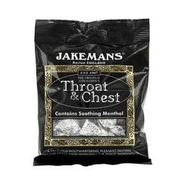 Jakemans Throat & Chest Lozenges Bag 100g