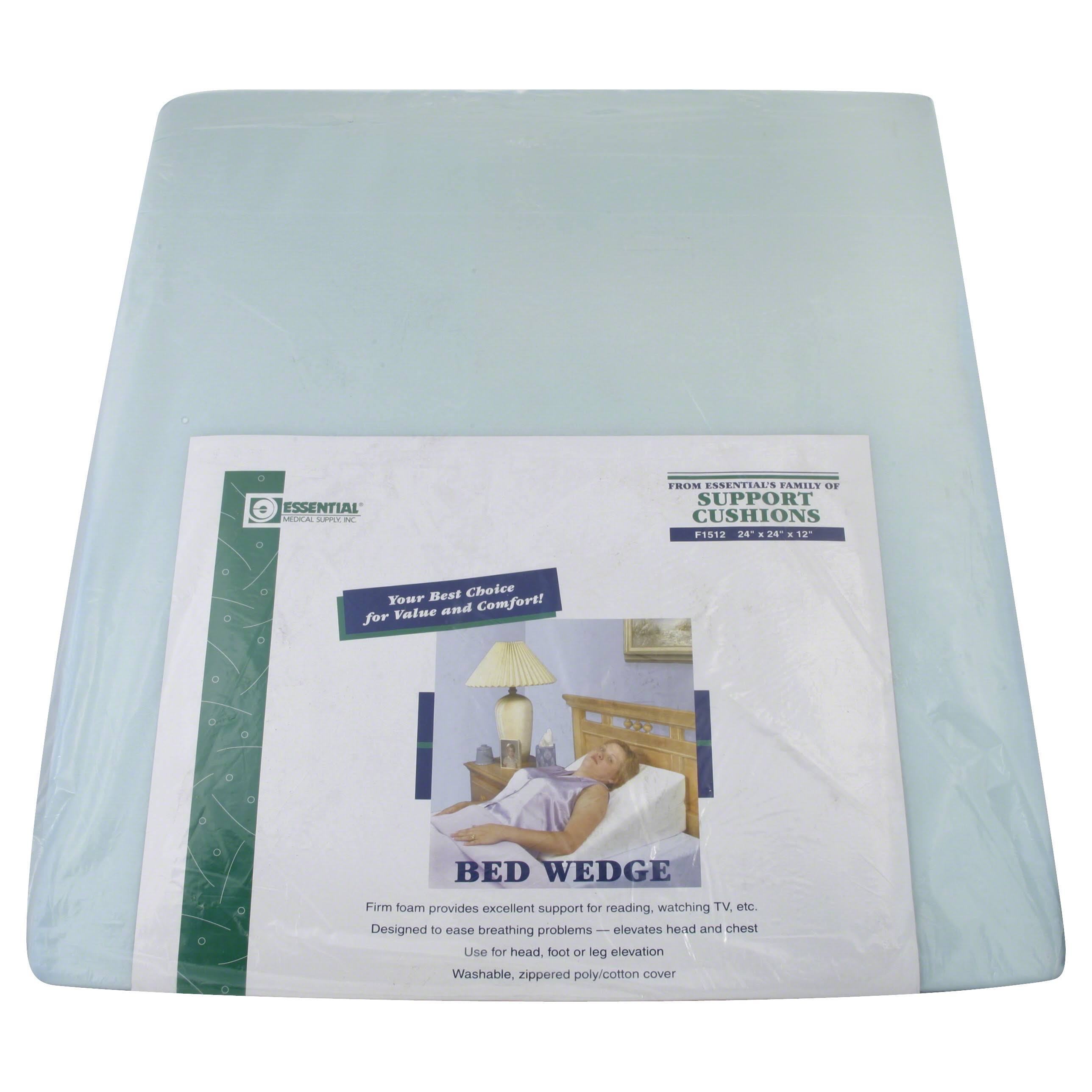 "Essential Medical Supply Elevating Foam Bed - 24"" x 24"""