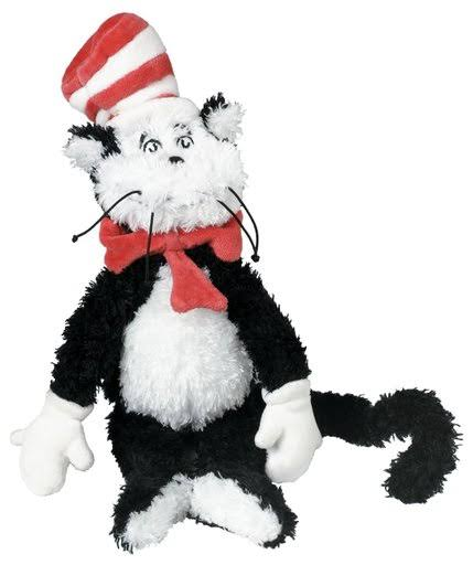 Manhattan Toy Dr. Seuss Cat in the Hat Soft Plush Toy - 12""
