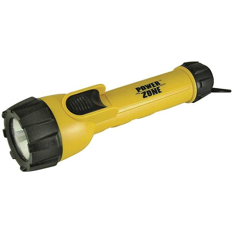 Power Zone CD 3 LED Flashlight - with battery, 2AA