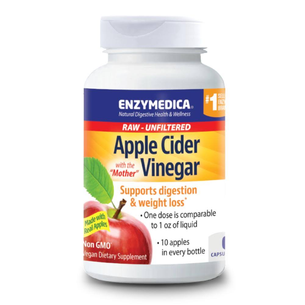 Enzymedica - Apple Cider Vinegar - 120 Capsules