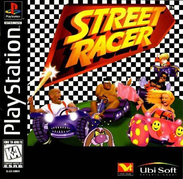 Street Racer - Playstation 1