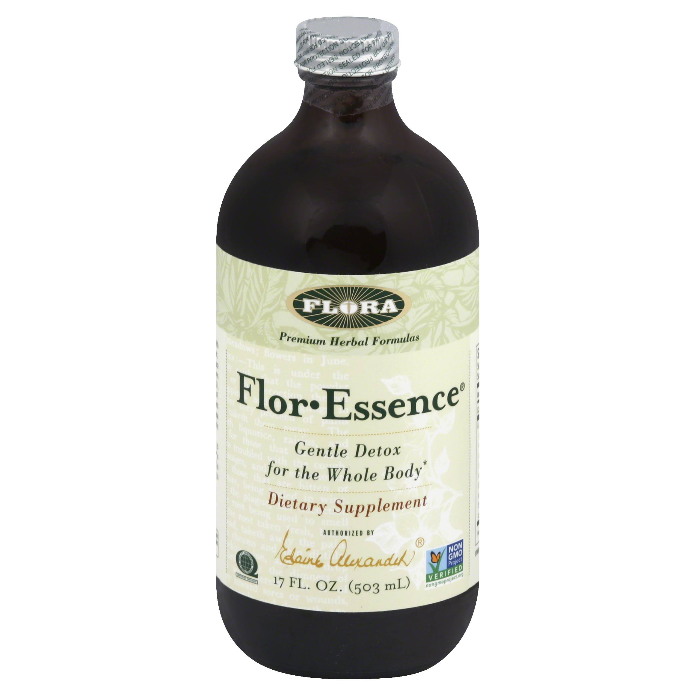 Flora Flor-Essence Gentle Detox - 17 fl oz bottle