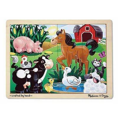 Melissa and Doug on The Farm Jigsaw - 12pcs