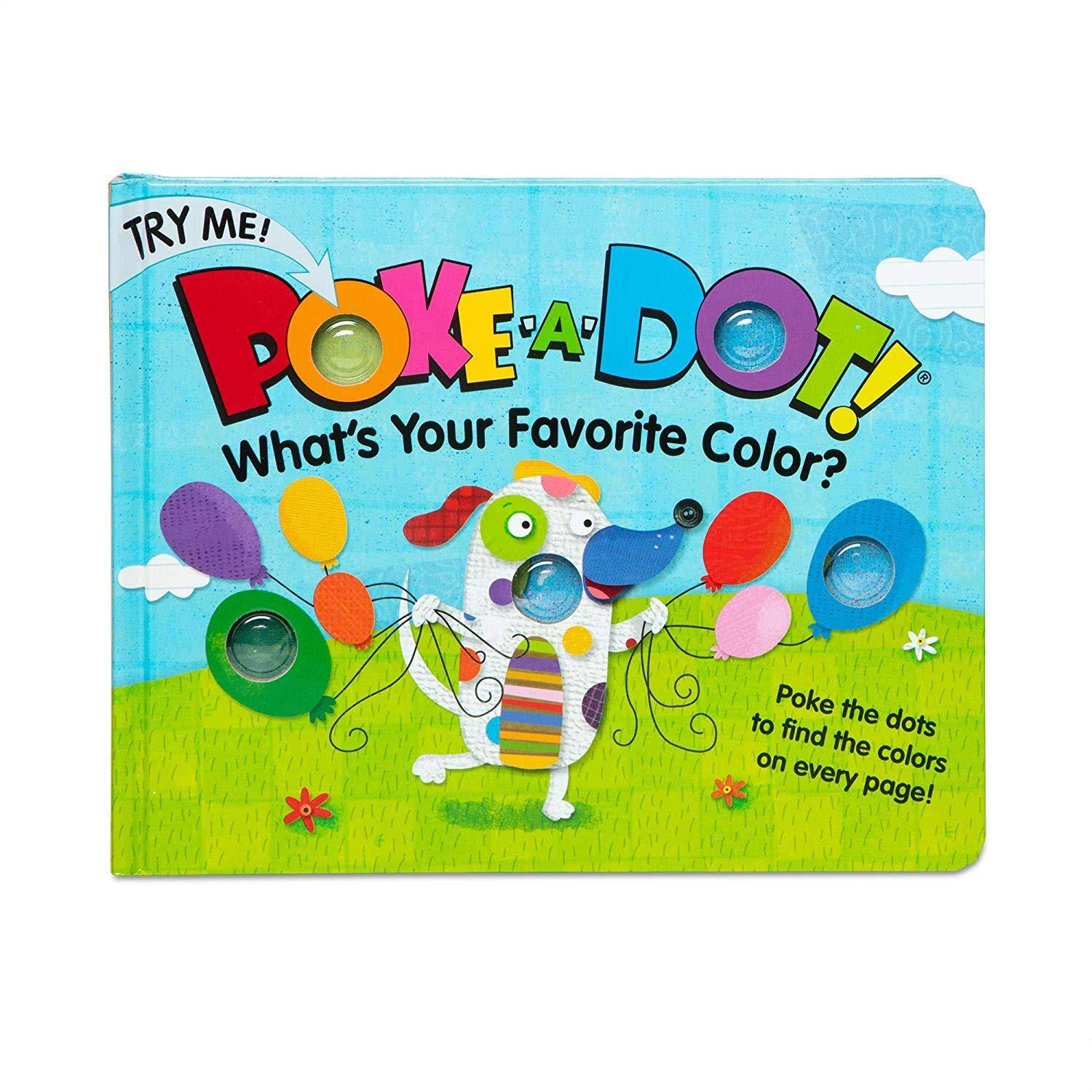 Melissa & Doug Poke-A-Dot Book- Favorite Color
