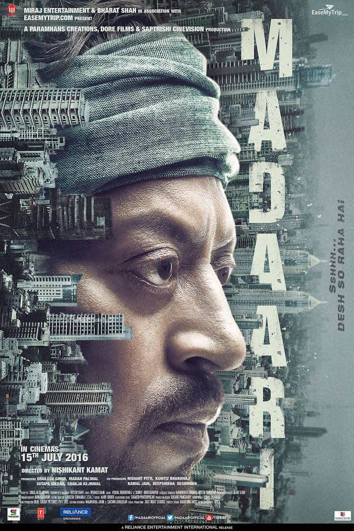 Download Madaari 2016 Full Movie in Hindi 1080p BluRay