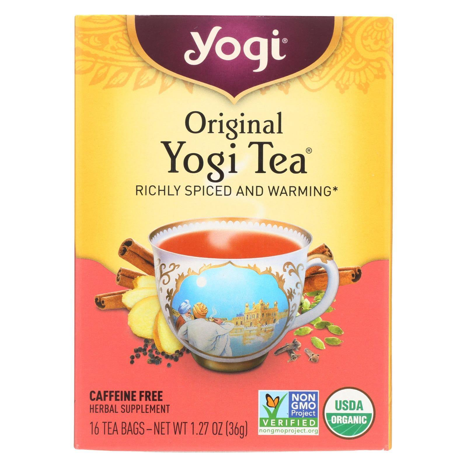 Yogi Tea Original Black Tea - 16ct