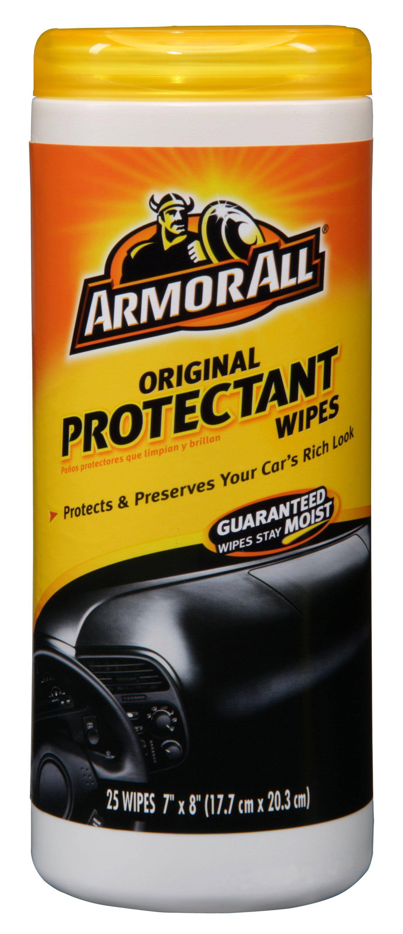 Armor All Original Protectant Wipes - 25 Wipes