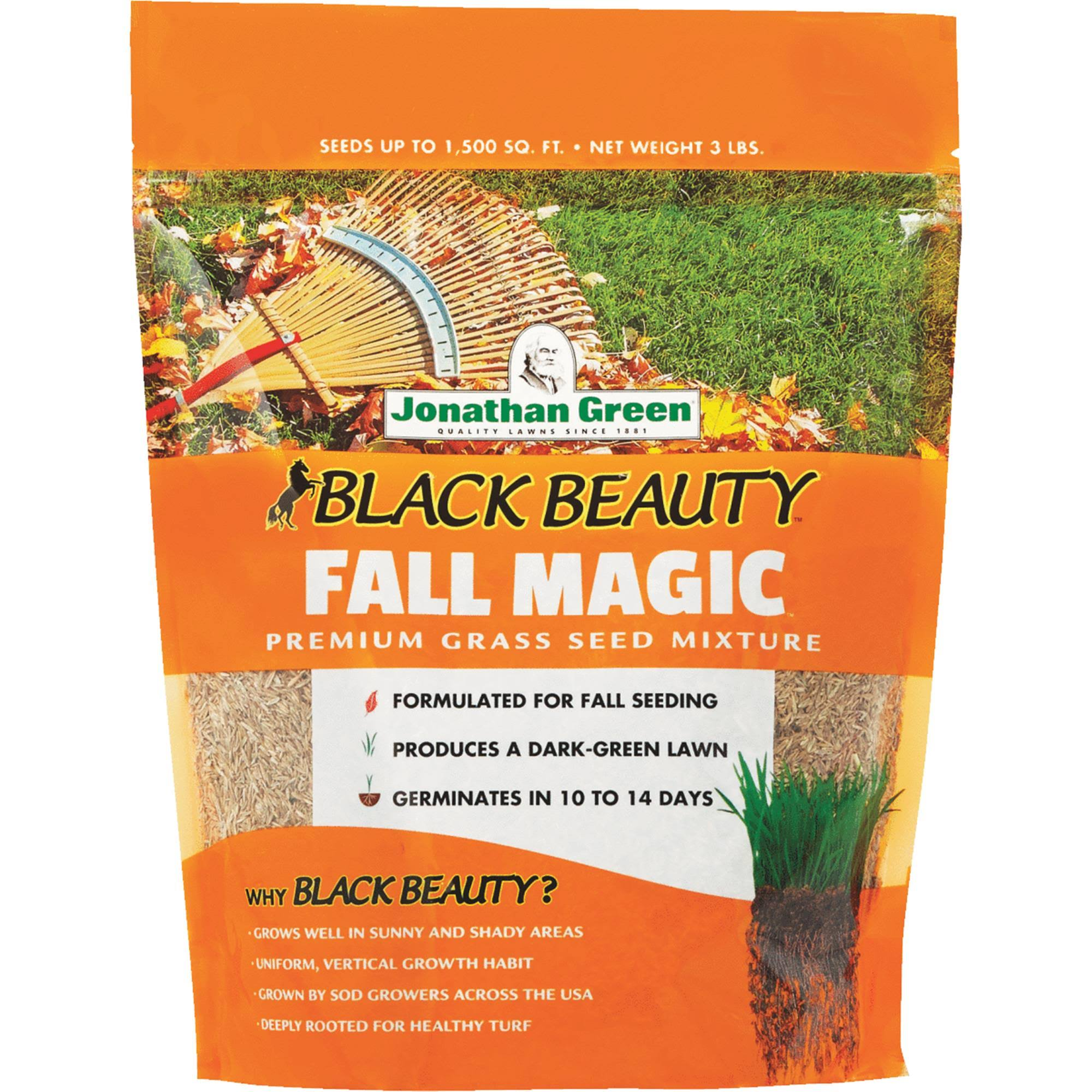 Jonathan Green Fall Magic Grass Seed Mix - 3lbs