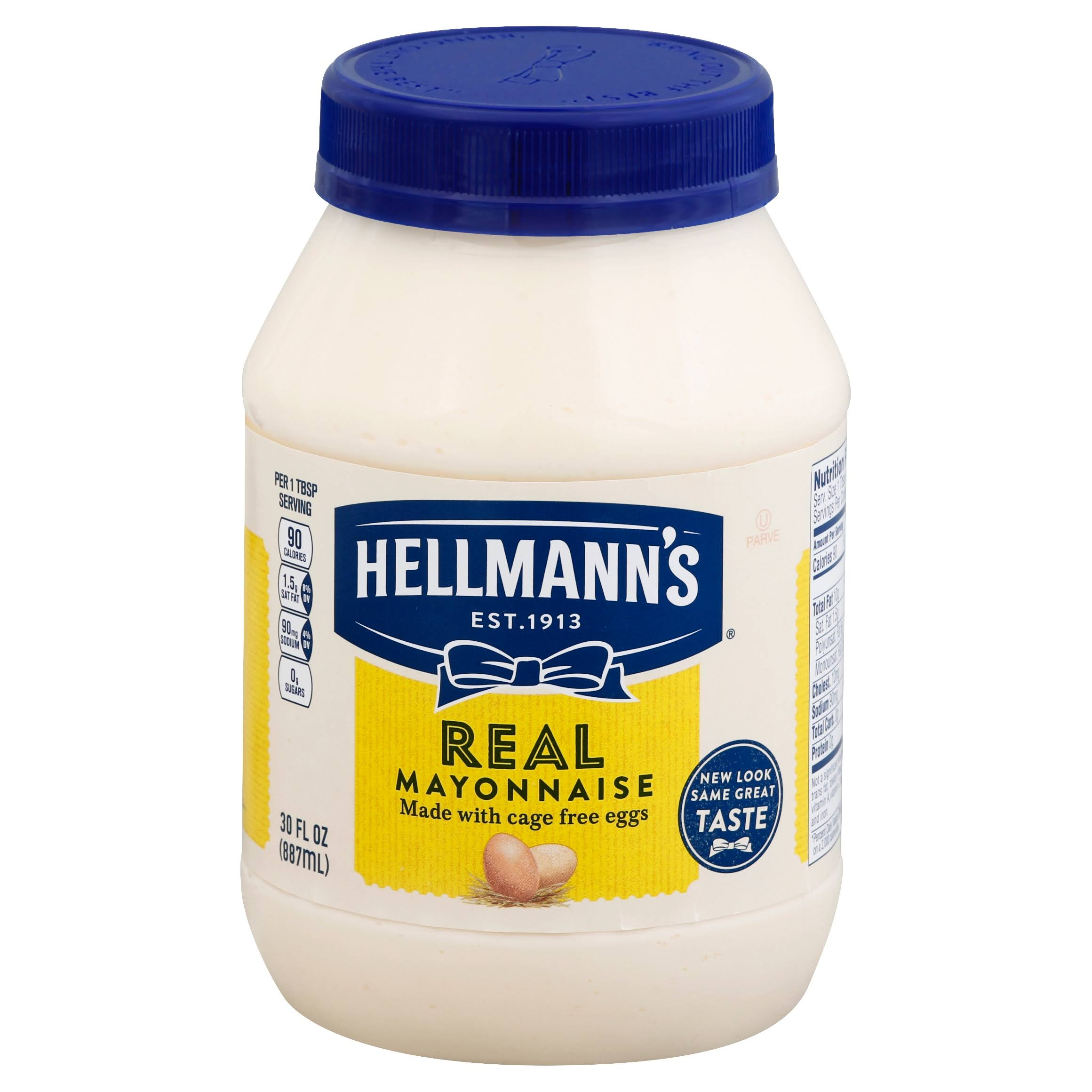 Hellmann's Real Mayonnaise - 30 fl oz