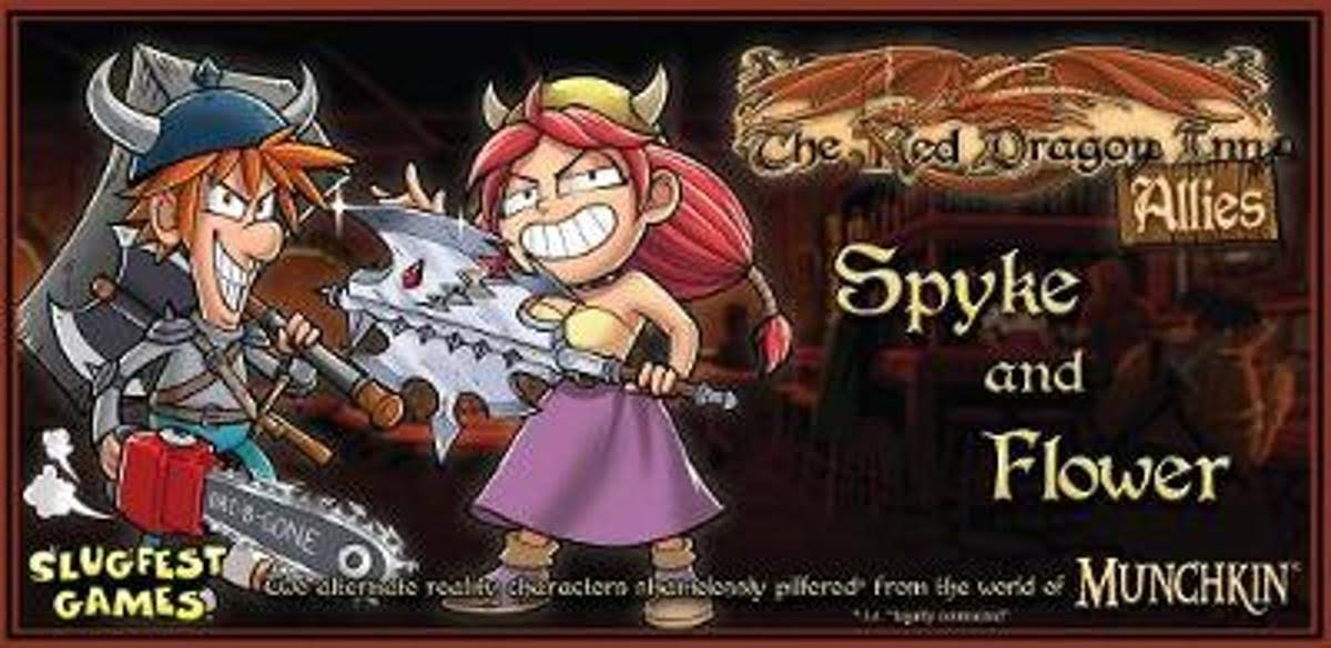 Slugfest Games The Red Dragon Inn Allies: Spyke and Flower Board Game