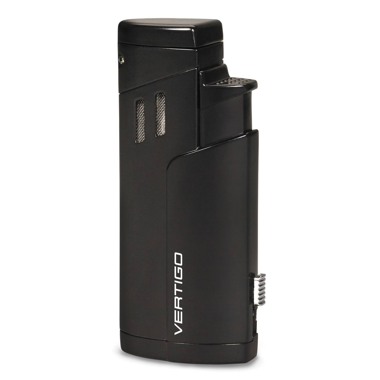 Vertigo Excalibur Triple Flame Torch Lighter - Black