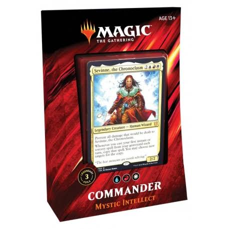 Magic: The Gathering Commander 2019 Mystic Intellect Deck | 100-Card
