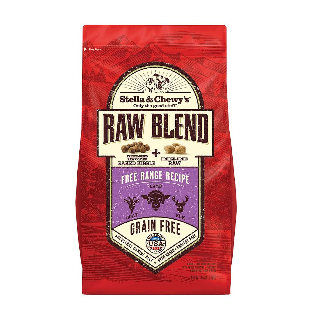 Stella & Chewy's Raw Blend Free Range Recipe Dry Dog Food 3.5 lbs