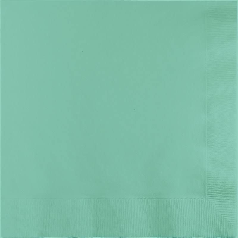 Touch of Color Lunch Napkins - 3-ply, Fresh Mint, 50ct