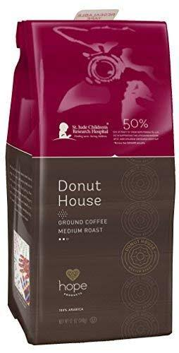 Hope Donut House Ground Coffee - Medium Roast, 12oz