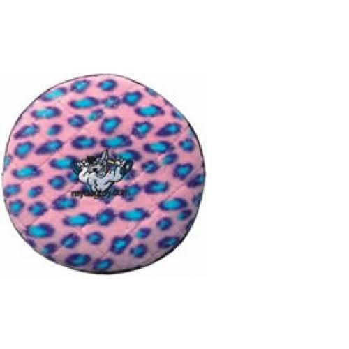Collarways Tuffys Jr's Flyer Pink Leopard Print 15cm Grade 6
