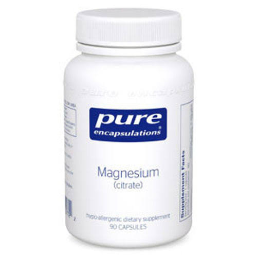Pure Encapsulations Magnesium Citrate 150 mg. 90 Capsules