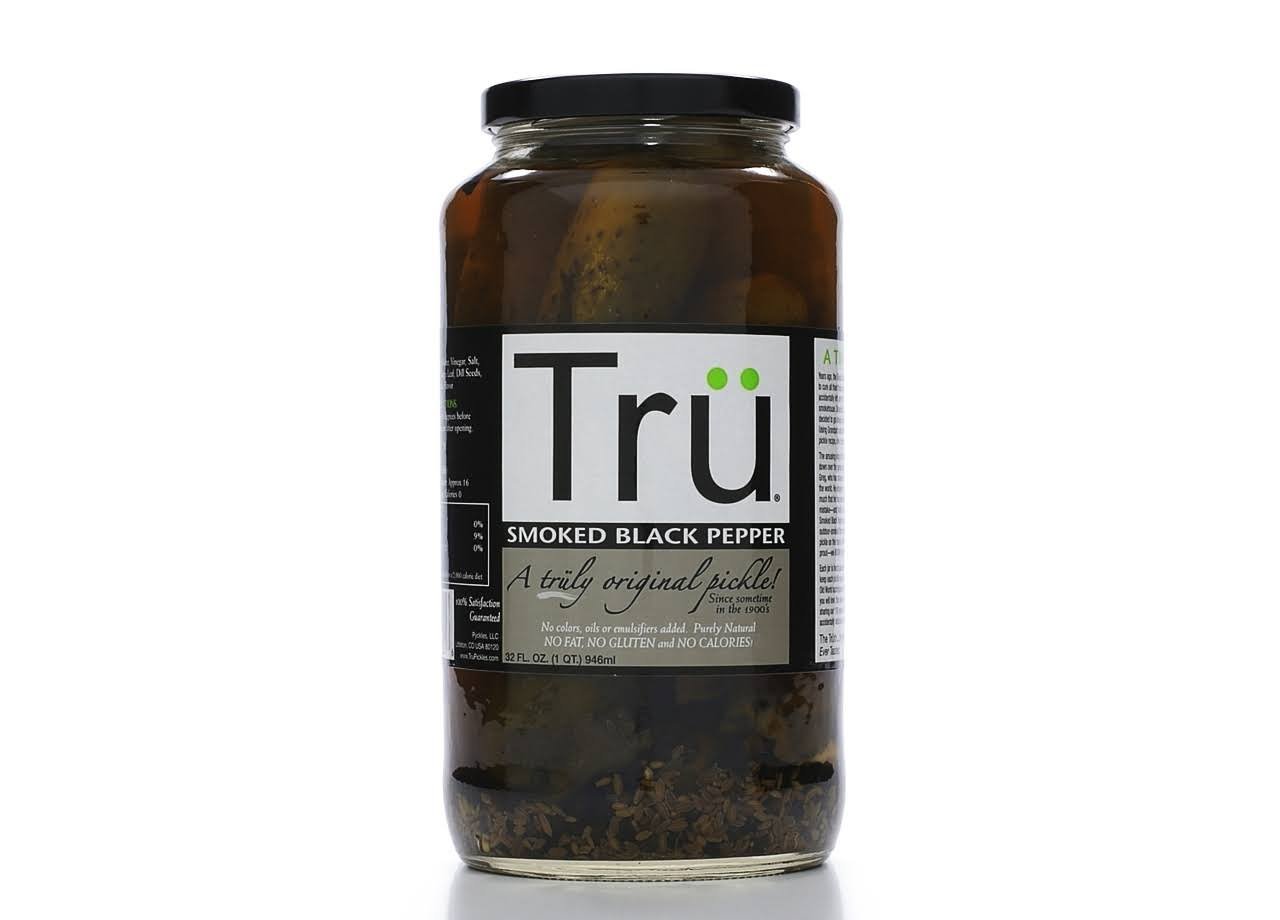 Tru Pickles Pickles - Smoked Black Pepper