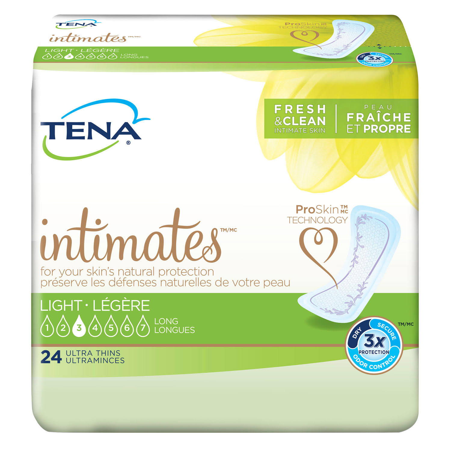 Tena Women's Incontinence Ultra Thin Pads - 24ct