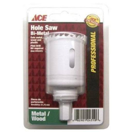 Ace Hole Saw, Bi-Metal, 1-1/8 Inch