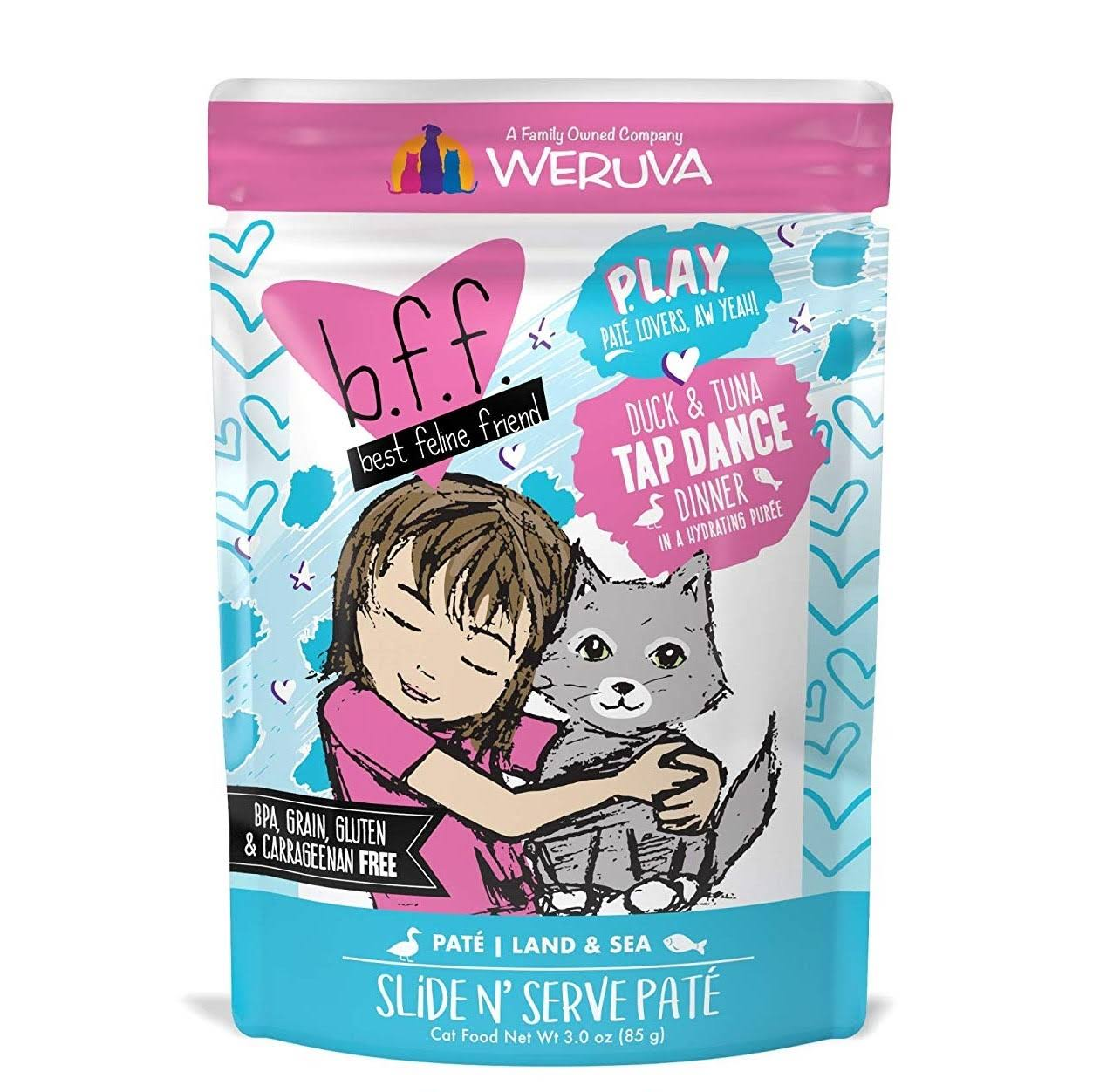 Best Feline Friend Play! Tap Dance 3.0 oz Pouch